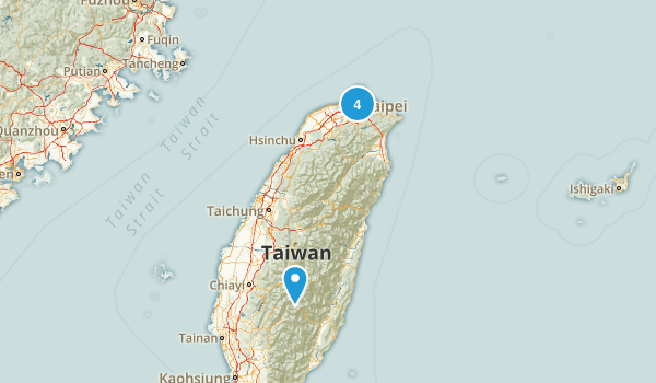 Taiwan No Dogs Map