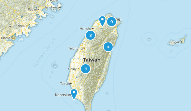 Taiwan Forest Map
