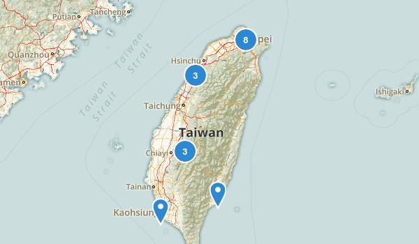 Taiwan Hiking Map