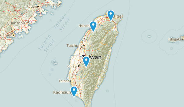 Taiwan Parks Map