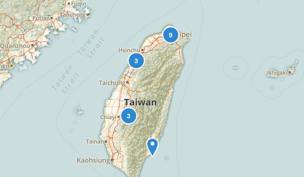 Taiwan Walking Map