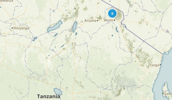 Tanzania Parks Map