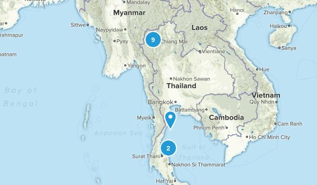 Thailand Forest Map