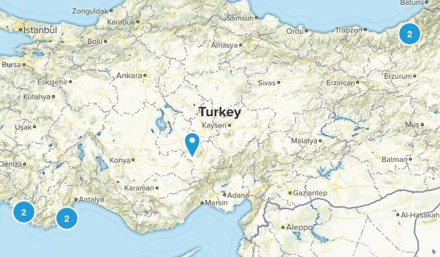 Turkey Birding Map