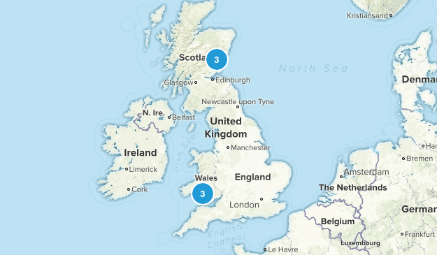 United Kingdom Local Parks Map