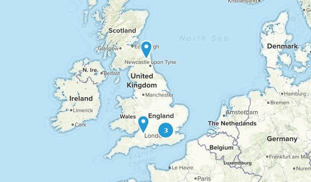 United Kingdom Paved Map