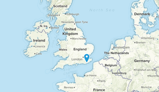 United Kingdom State Parks Map