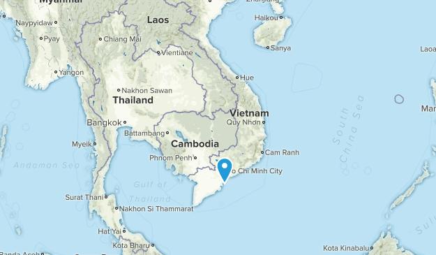 Vietnam Parks Map