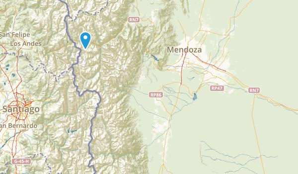 Mendoza, Argentina Parks Map