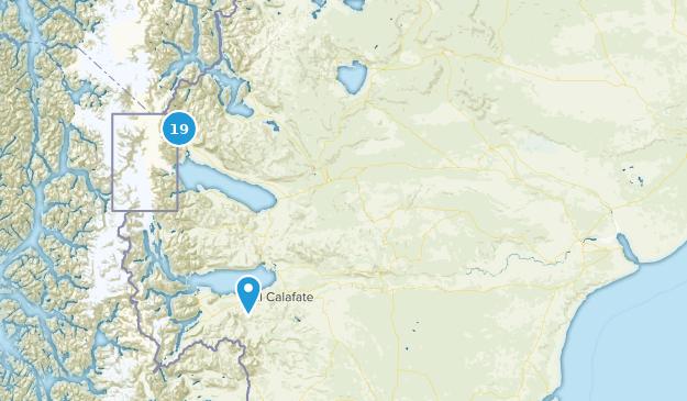 Santa Cruz, Argentina Wildlife Map