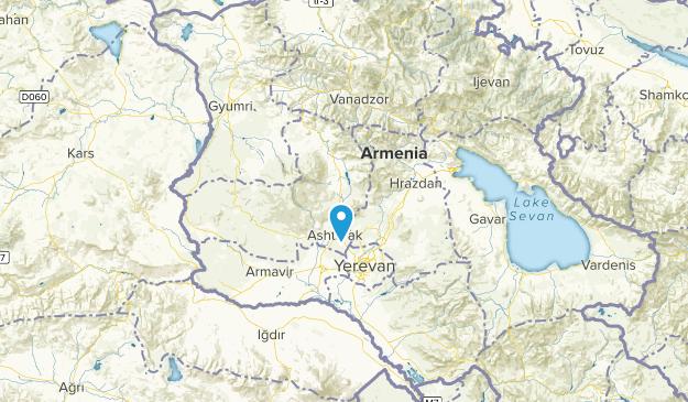 Aragatsotn, Armenia Parks Map