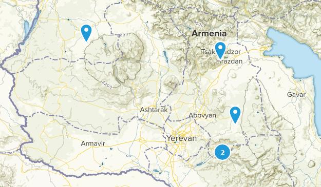 Kotayk, Armenia Walking Map
