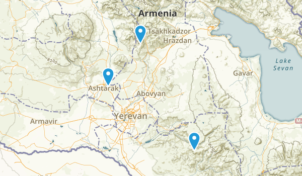 Kotayk', Armenia Parks Map