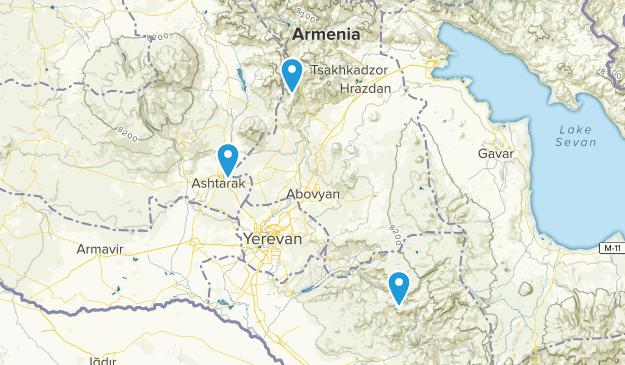 Kotayk', Armenia Parks Map