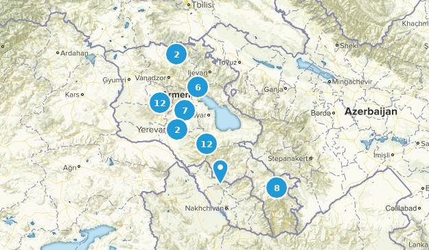 Kotayk', Armenia Wild Flowers Map
