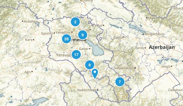 Kotayk', Armenia Wildlife Map
