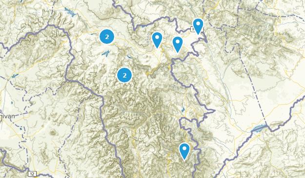 Syunik, Armenia Mountain Biking Map