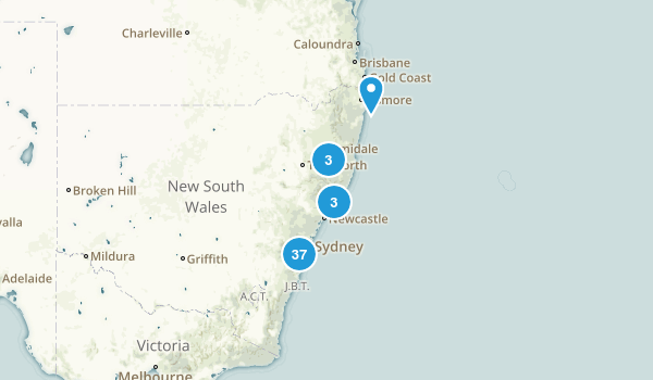 New South Wales, Australia Kid Friendly Map