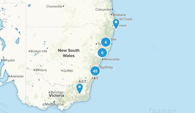 New South Wales, Australia Kid Friendly Map