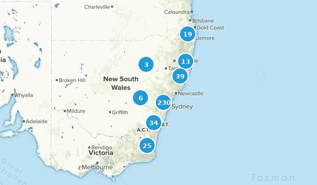 New South Wales, Australia Views Map