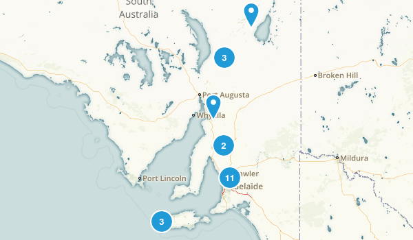 South Australia, Australia Kid Friendly Map
