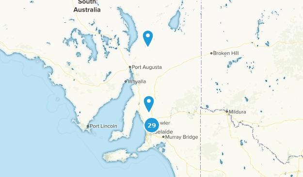 South Australia, Australia Trail Running Map