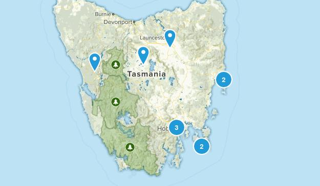 Tasmania, Australia Kid Friendly Map