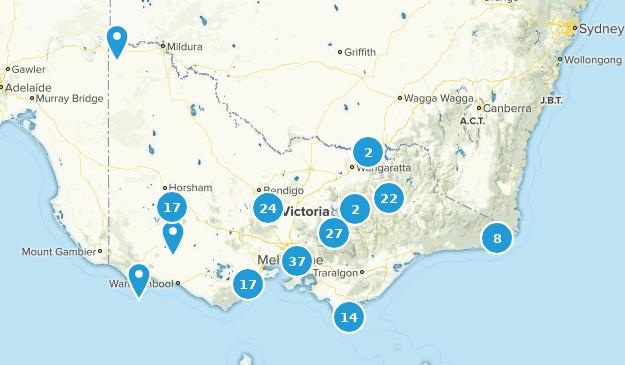 Victoria, Australia Birding Map
