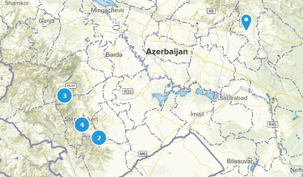Xocavənd, Azerbaijan Forest Map