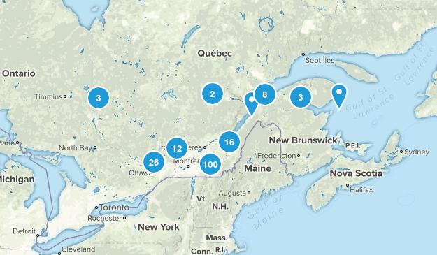 Quebec, Canada Kid Friendly Map