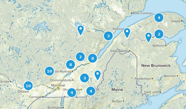 Best Waterfall Trails in Quebec Canada   AllTrails on