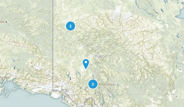 Yukon, Canada Birding Map