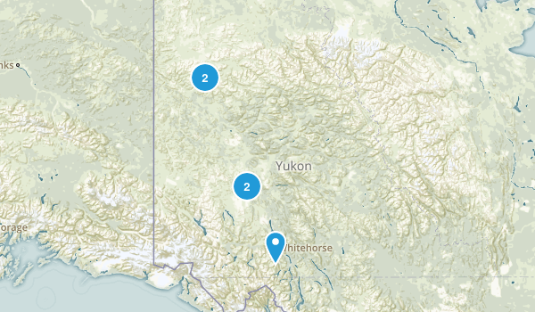 Yukon, Canada Nature Trips Map
