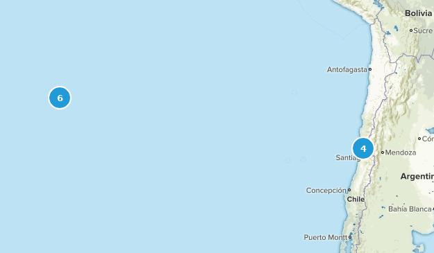 Valparaíso, Chile Views Map