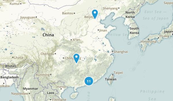 Guangdong, China Views Map