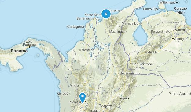 Magdalena, Colombia Views Map