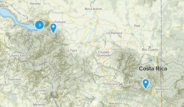 Alajuela, Costa Rica Kid Friendly Map