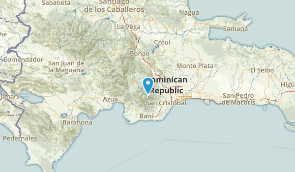San Cristóbal, Dominican Republic Parks Map