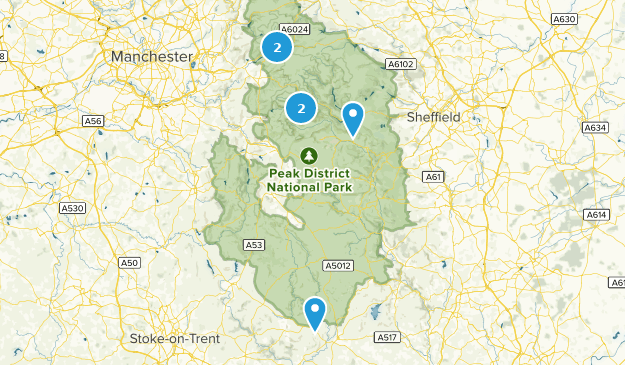 Map Of England Derbyshire.Best Backpacking Trails In Derbyshire England Alltrails