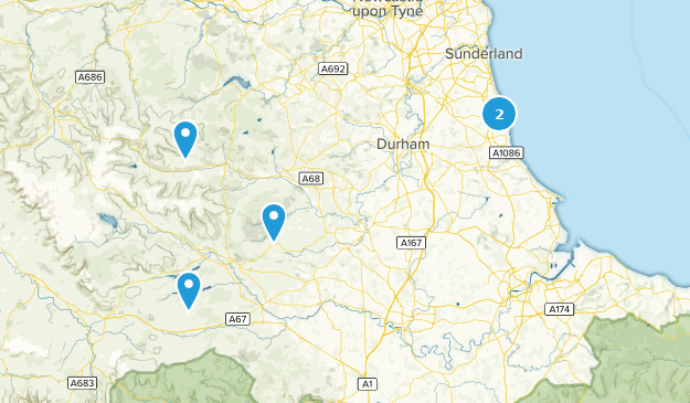 Map Of England Durham.Best Bird Watching Trails In Durham England Alltrails