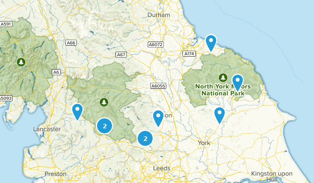Kids Map Of England.Best Kid Friendly Trails In North Yorkshire England Alltrails