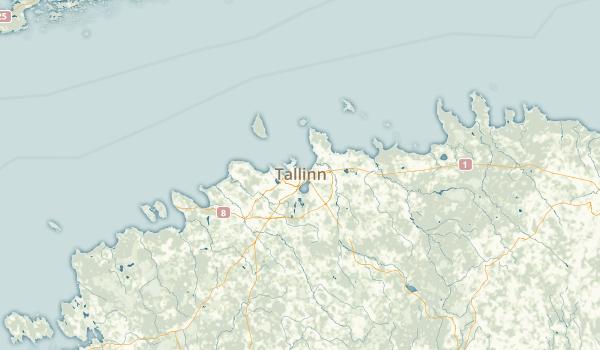 Harjumaa, Estonia Parks Map