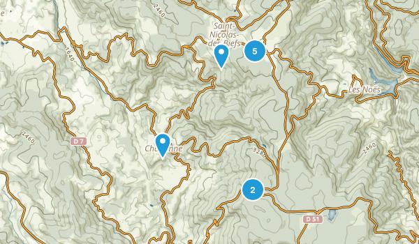 Allier, France Birding Map