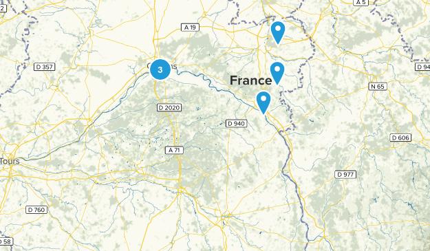 Centre-Val de Loire, France Kid Friendly Map
