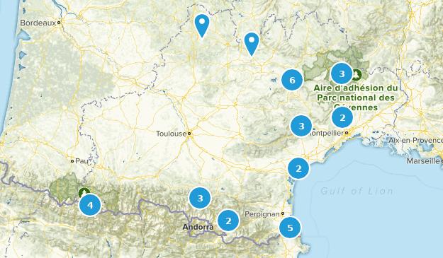 Occitanie, France Views Map