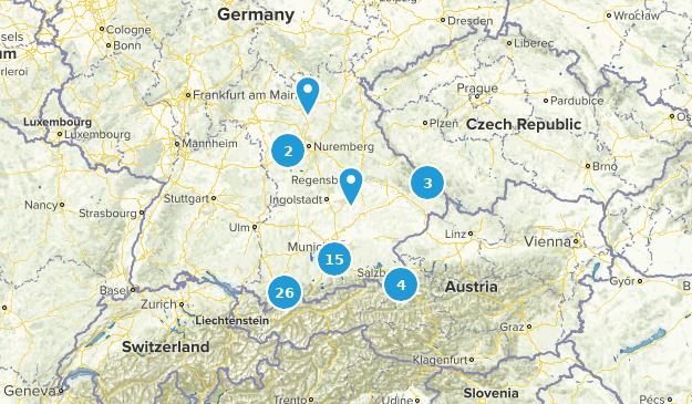 Bavaria, Germany Views Map