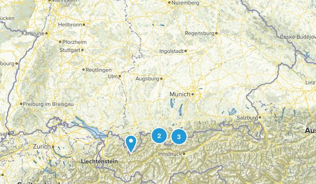 Bayern, Germany Waterfall Map