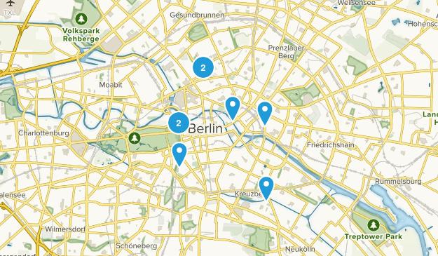 Berlin, Germany Walking Map