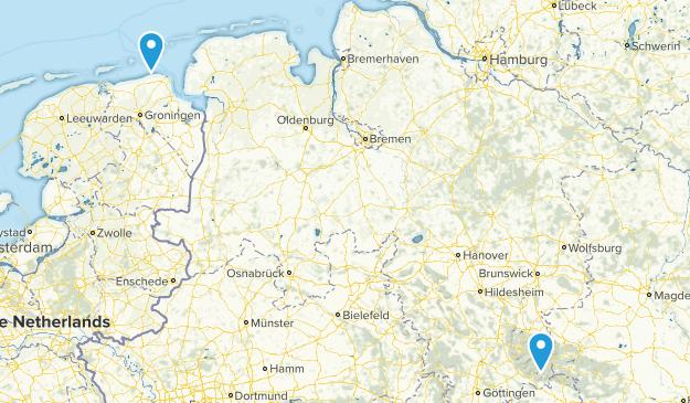 Lower Saxony Germany Map.Best Parks In Lower Saxony Germany Alltrails