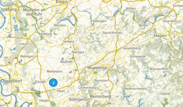 Nordrhein-Westfalen, Germany Local Parks Map